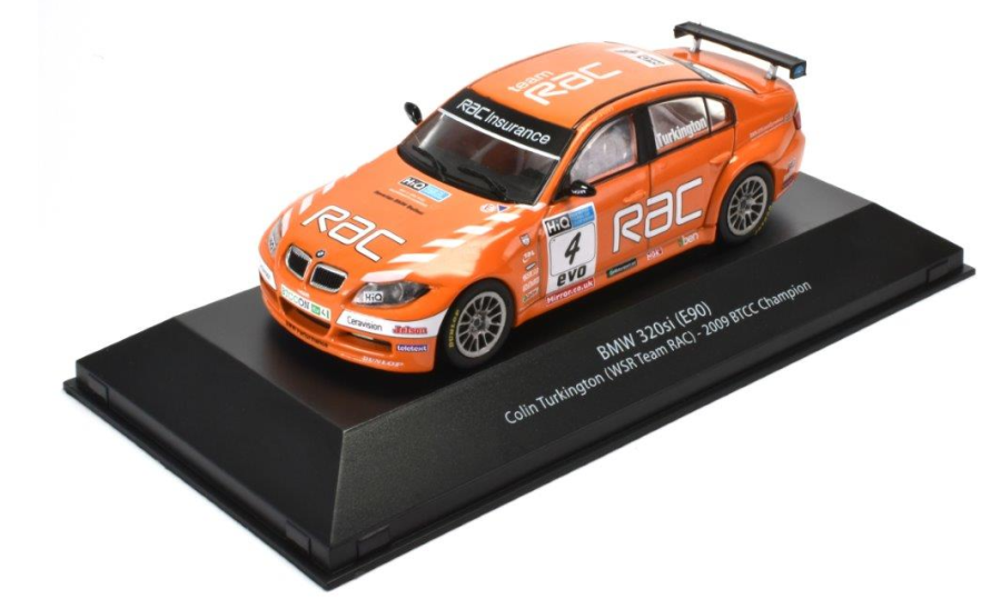 1:43 BMW E90 3 Series BTCC Turkington 2009 model