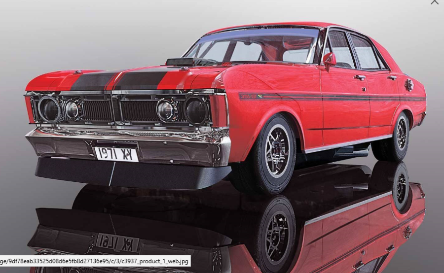 Ford Falcon 1970 - Candy Apple Red