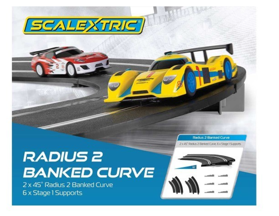 Banked Curve Radius 2 45 Degree