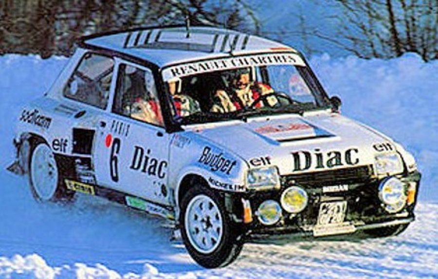 Renault 5 Turbo Monte Carlo Rally 1984