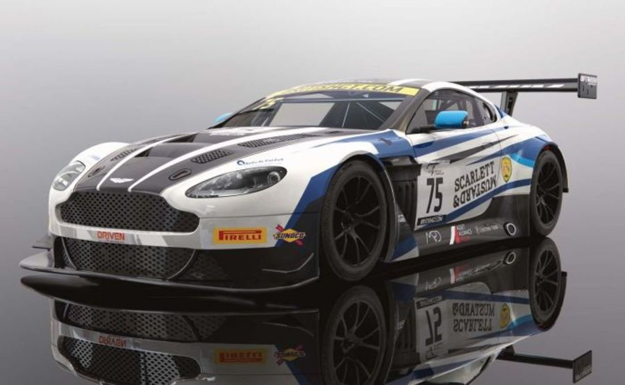 Aston Martin GT3 British GT Champion 2018