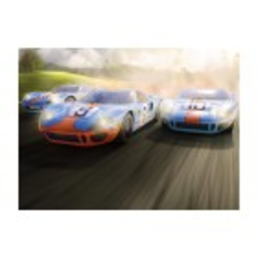 Legends Ford GT40 LeMans 1968 - Gulf Triple Pack - Limited Edition