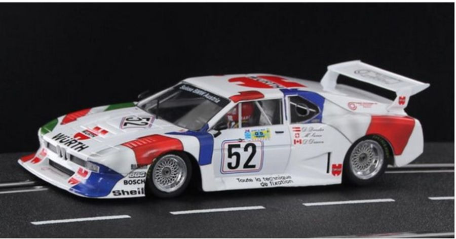 BMW M1 Turbo Gr.5 Wurth Team Sauber Le Mans 24h 1981