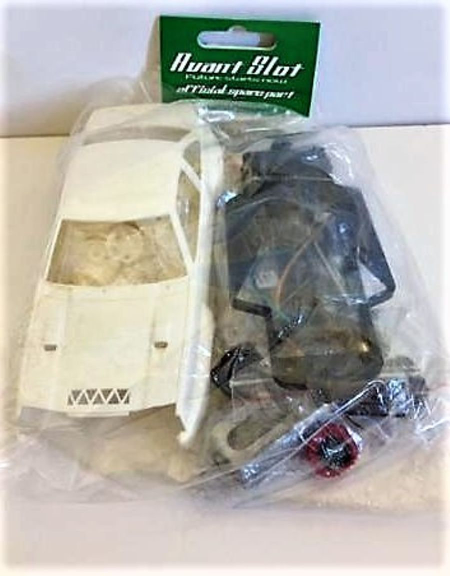 Opel Manta White Slot Car Kit