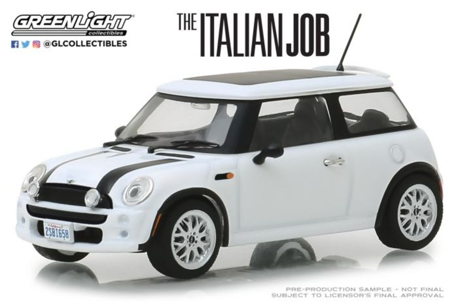 1/43 The Italian Job (2003) - 2003 Mini Cooper - White