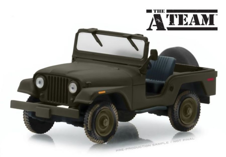 Jeep CJ-5 - The A-Team (1983-87) 1/43 scale model car
