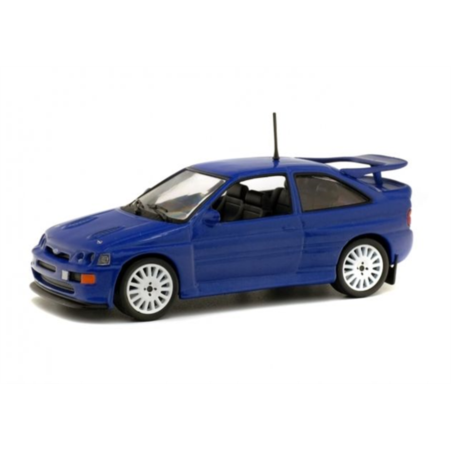 Ford Escort RS Cosworth Blue  1/43 scale model car