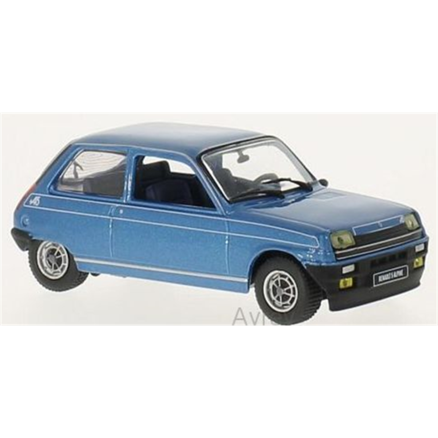 1/43 Renault 5 Alpine 1976 - Blue Metallic