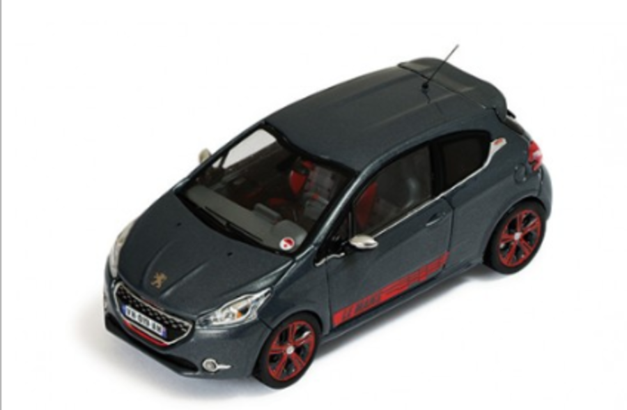 1/43 Peugeot 208 GTi Le Mans Edition Metallic Grey
