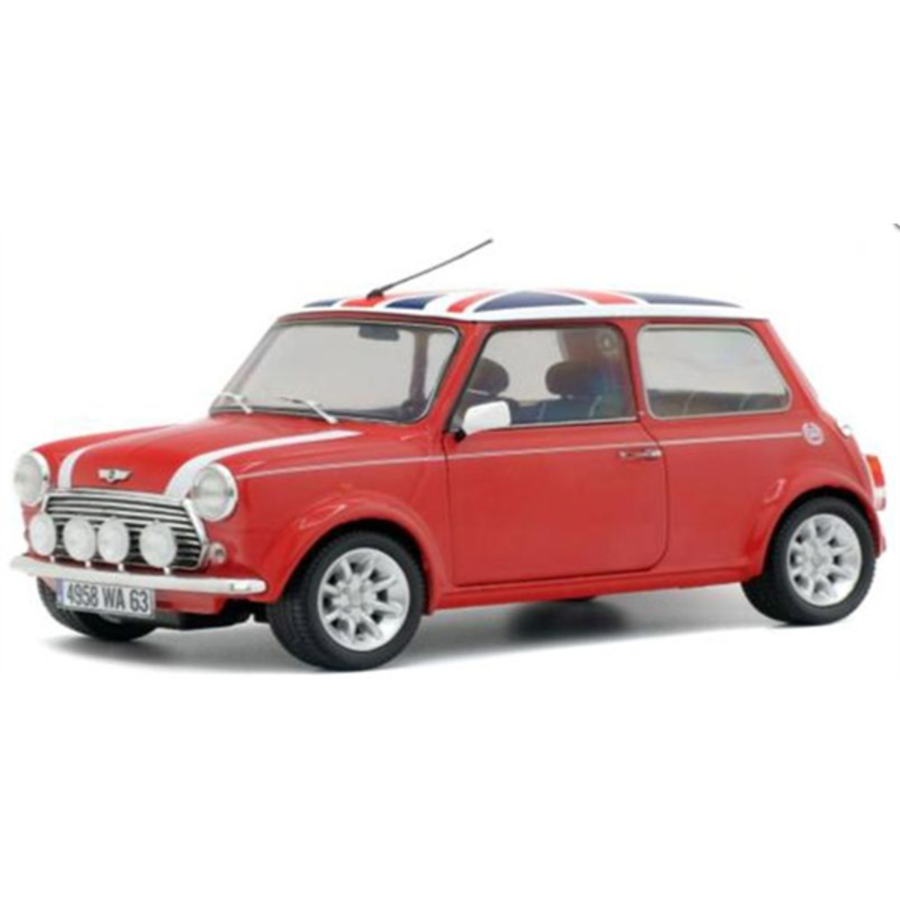 1/18 Mini Cooper Sport Pack 1997 Red with Union Jack