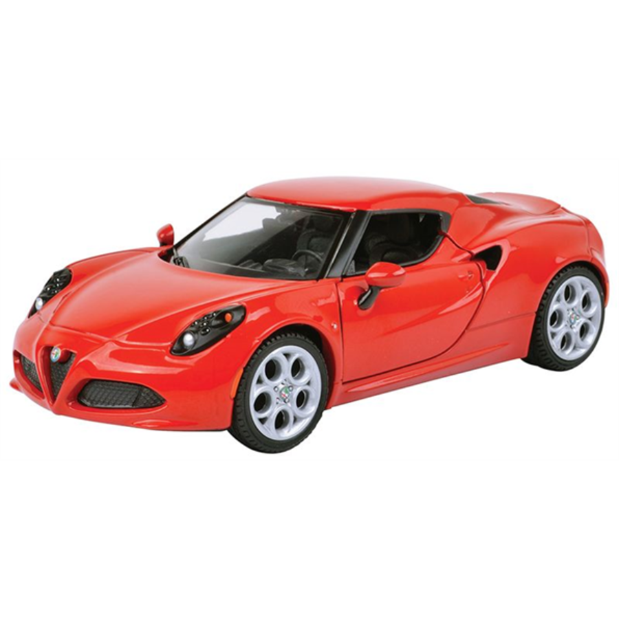 1/24 Alfa Romeo 4C Red