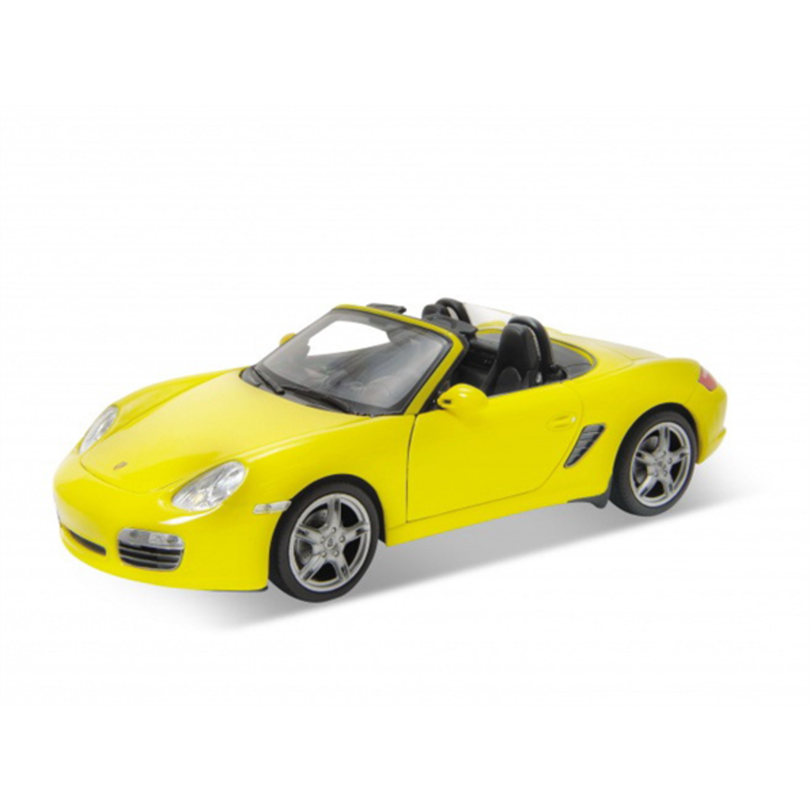 1/24 Porsche Boxster S Convertible Yellow