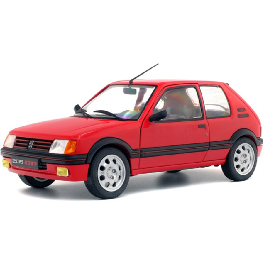 1/18 Peugeot 205 GTi Red