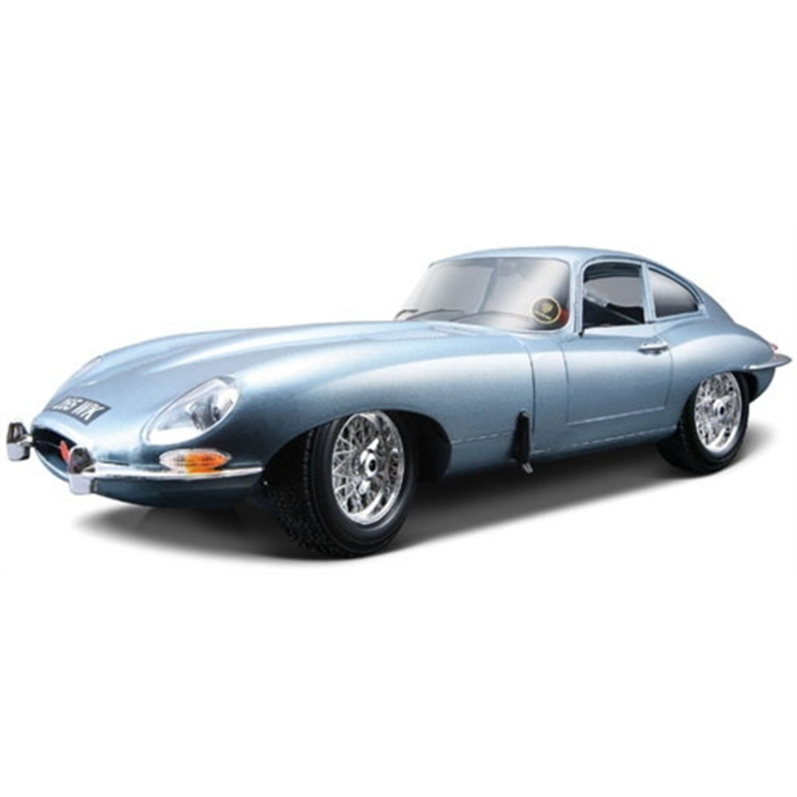 1/18 Jaguar E Type Coupe 1961 - Lt Blue Metallc