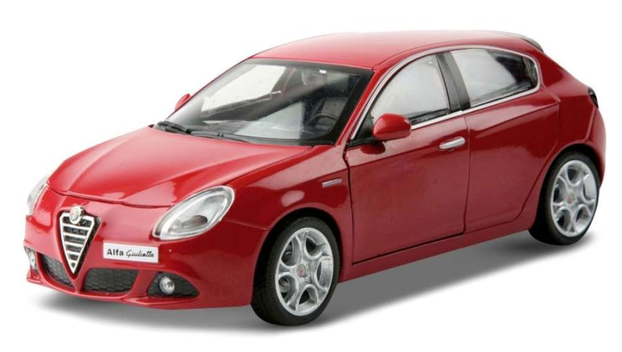 1/24 Alfa Romeo Giulietta - Red model car