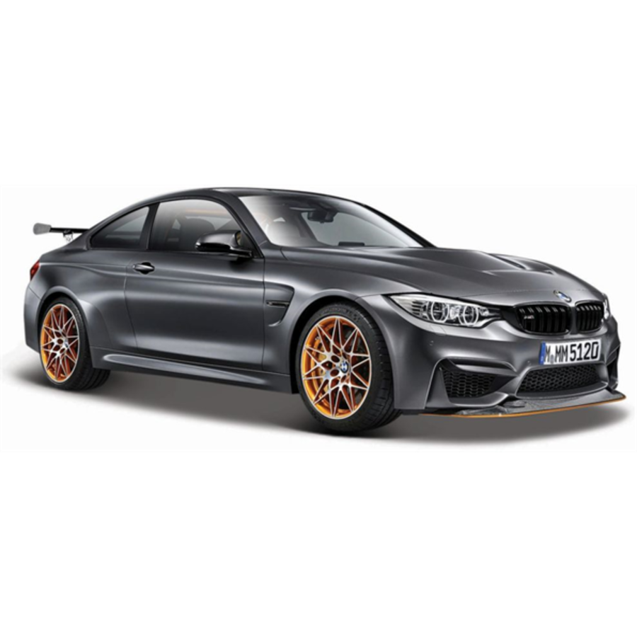 1/24 BMW M4 GTS Metallic Grey model car