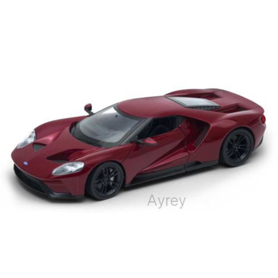 1/24 Ford GT 2015 Metallic Red model car