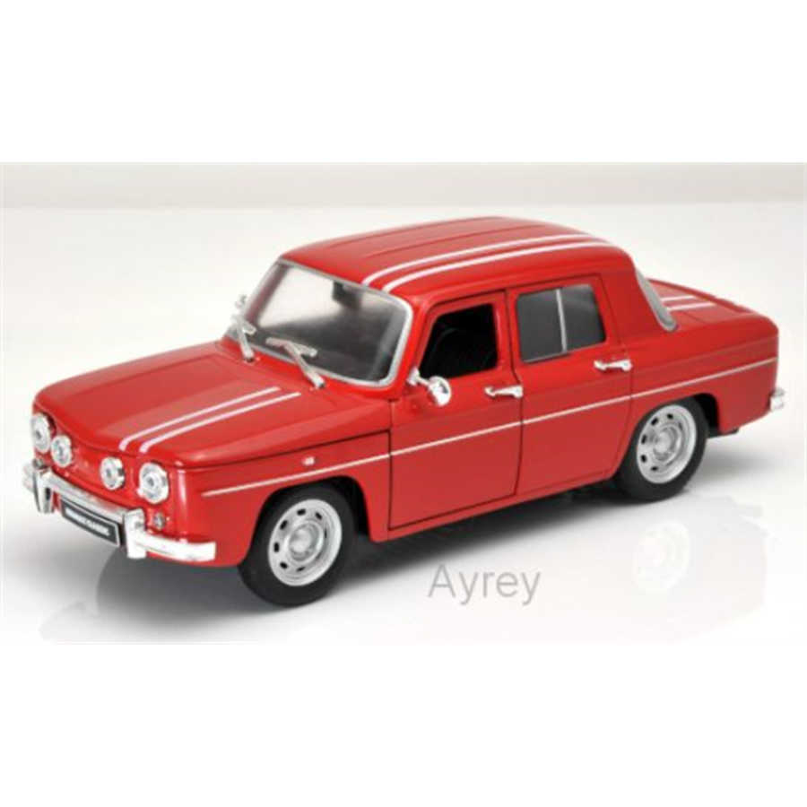 1/24 Renault R8 Red model car