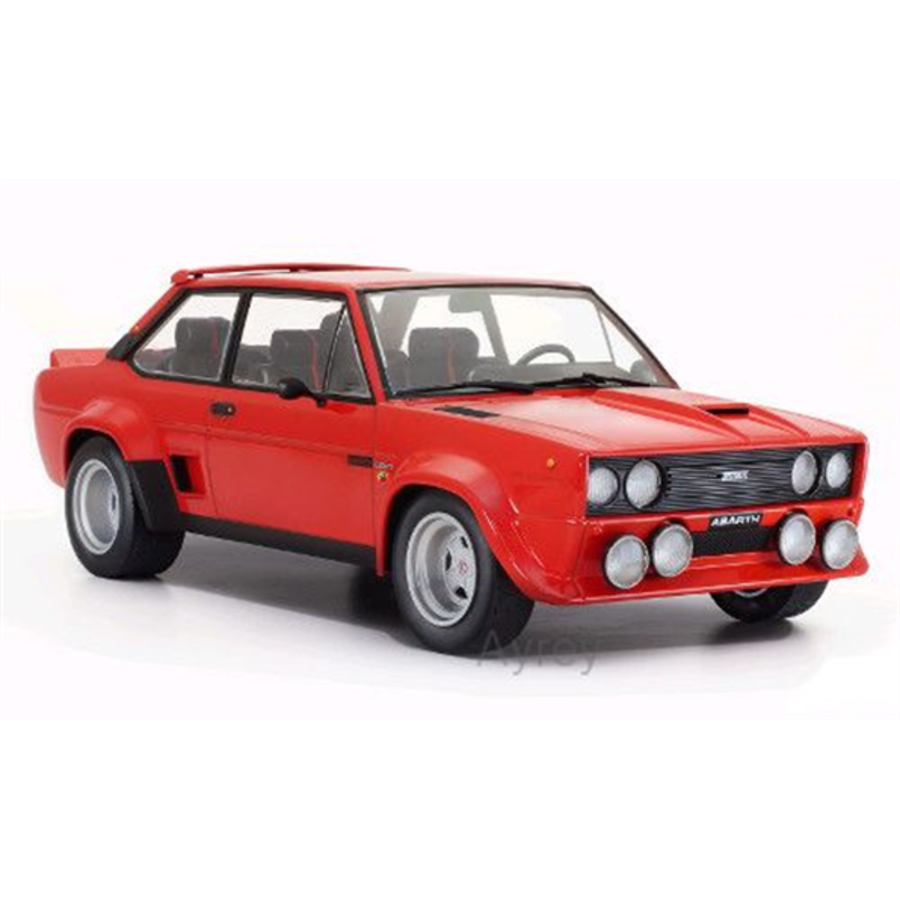 1/18 Fiat 131 Abarth Red model car