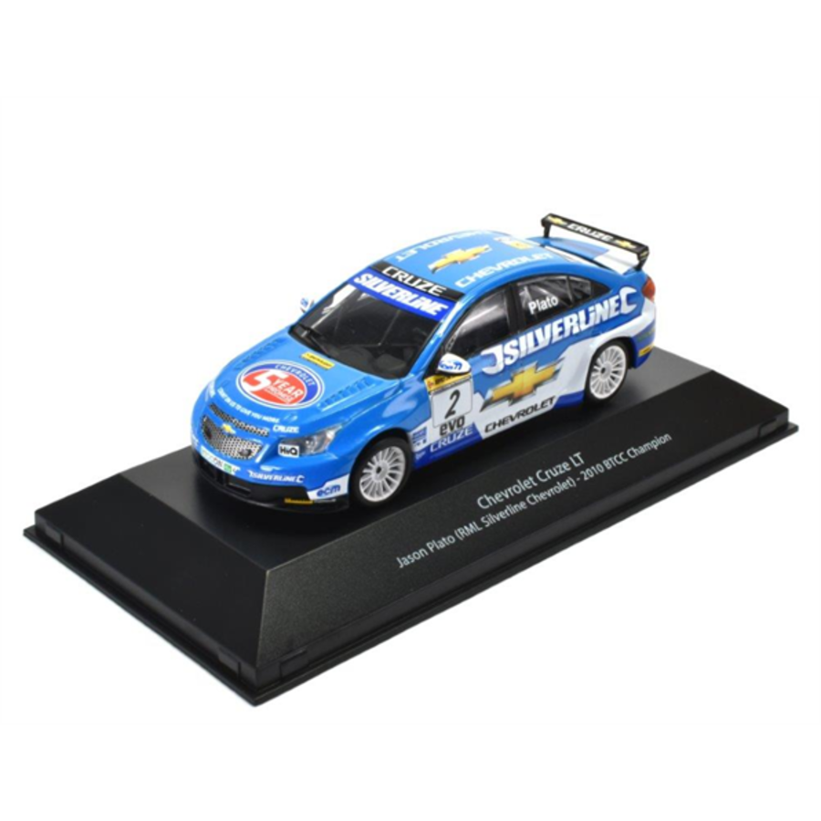 1/43 Chevrolet Cruze LT - 2010 - BTCC Champion Jason Plato model car