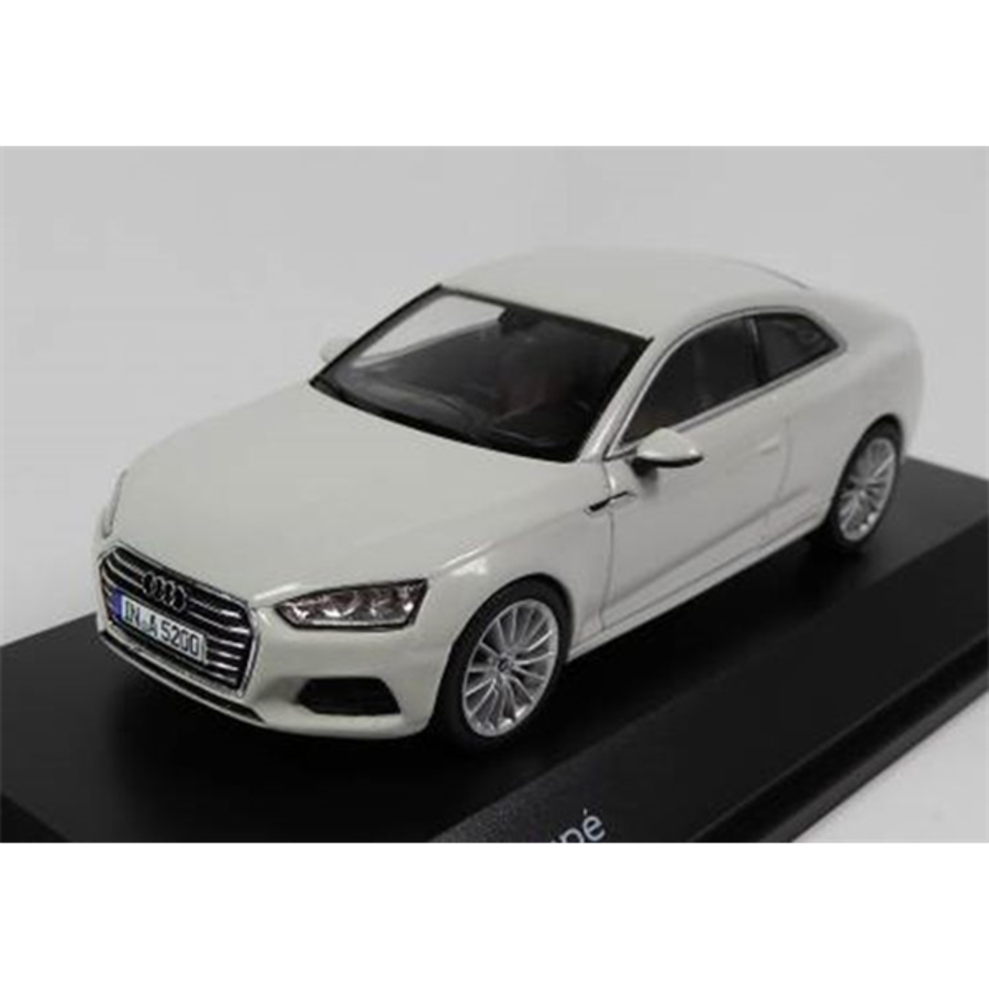 Audi A5 Coupe - Glacier White  1/43 scale model car