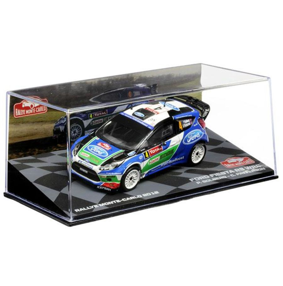 1/43 Ford Fiesta RS WRC 2012  P.Solberg / C.Patterson model rally car