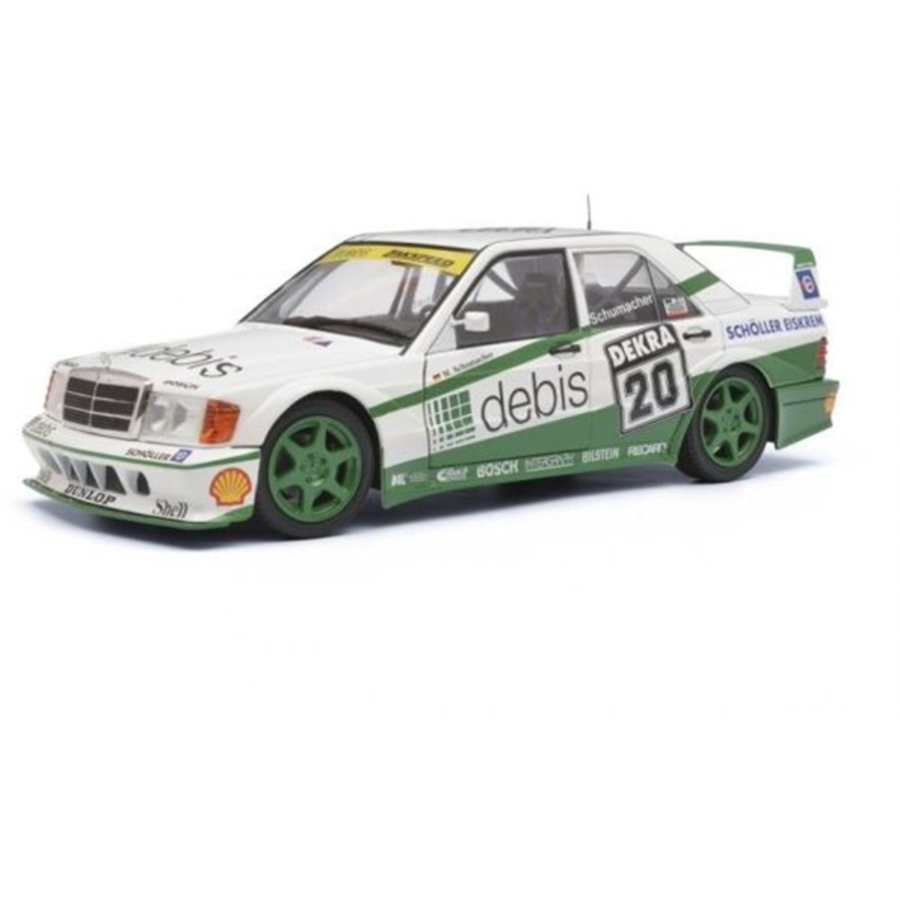 1/18 Mercedes-Benz 190 Evo2  Zackspeed 20 - DTM 1991 Michael Schumacher model car