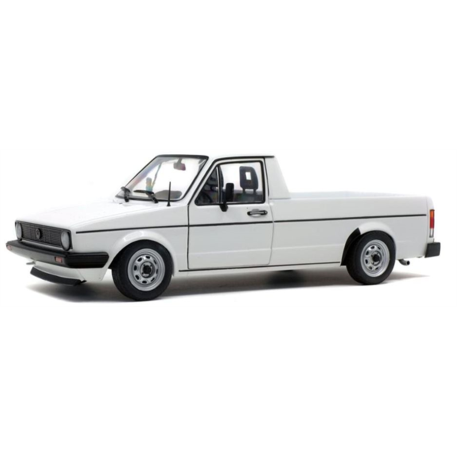 1/18 Volkswagen Caddy MK1 White 1982 model pick up truck