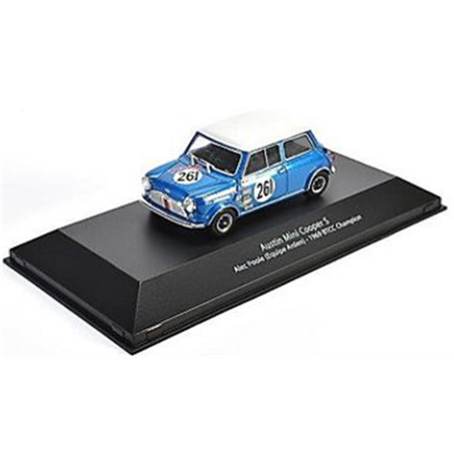 1/43 Austin Mini Cooper S - BTCC Champion 1969 #261 - Alec Poole model touring car