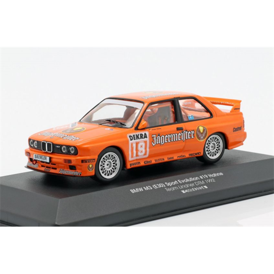 1/43 BMW M3 (E30) Sport Evolution #19 DTM 1992 Armin Hahne model touring car