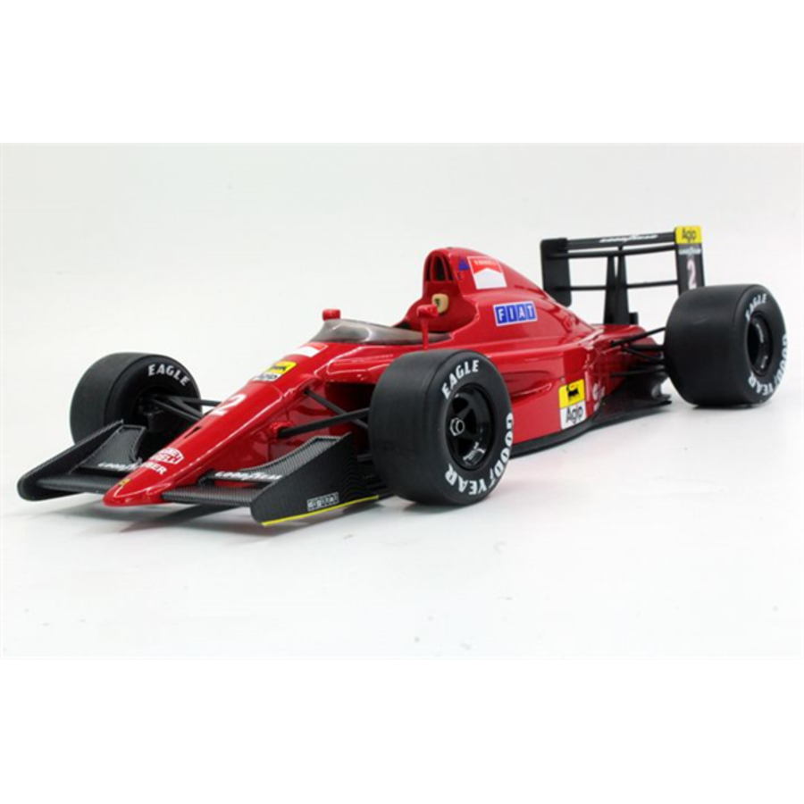 1/18 Ferrari 641/2 1990 Nigel Mansell model racing car