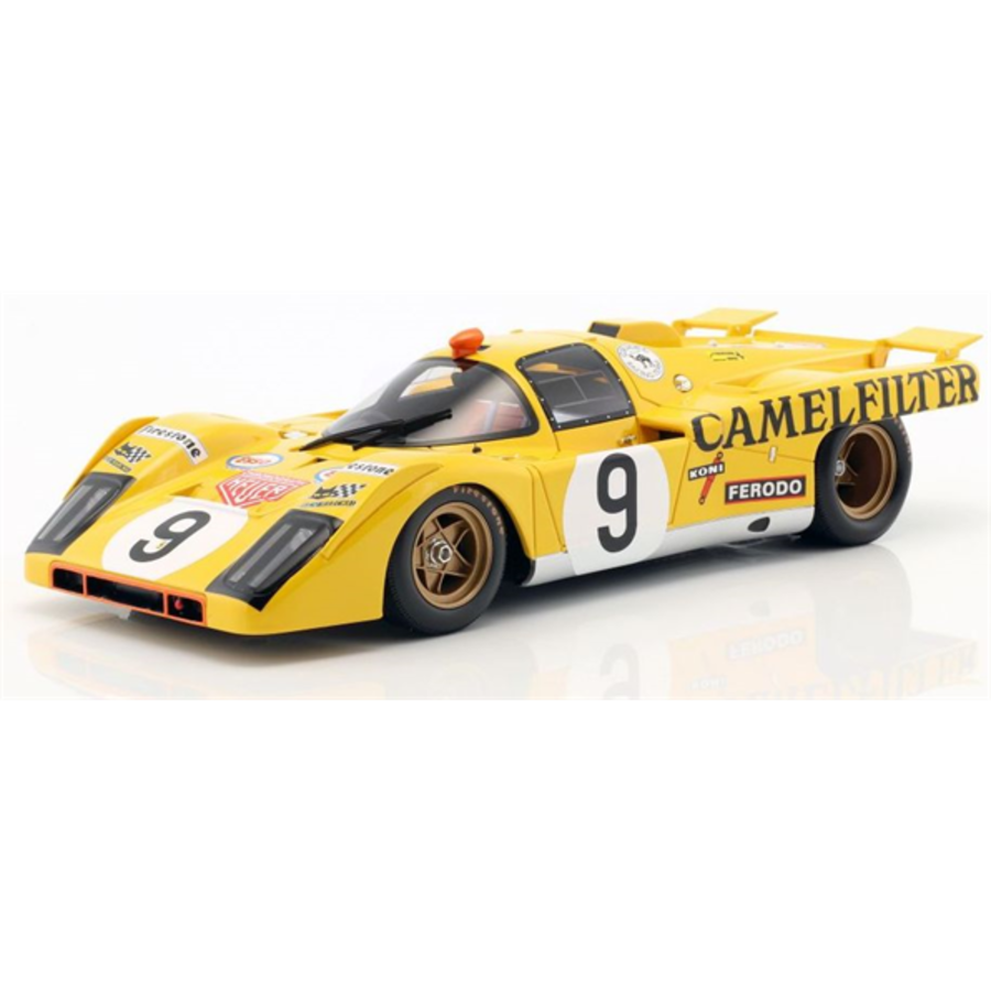 1/18 Ferrari 512 M No 9 24H Le Mans 1971 De Fierlant De Cadenet model sports racing car