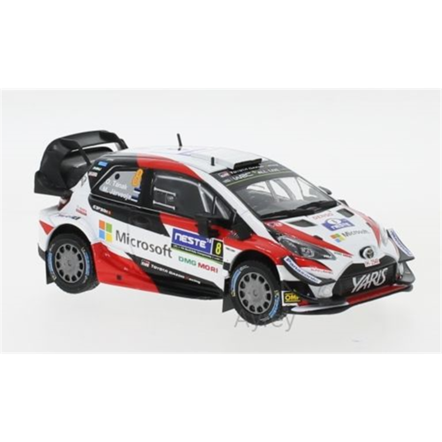 Toyota Yaris WRC #8 Rally Finland 2018 O.Tanak 1/43  model car