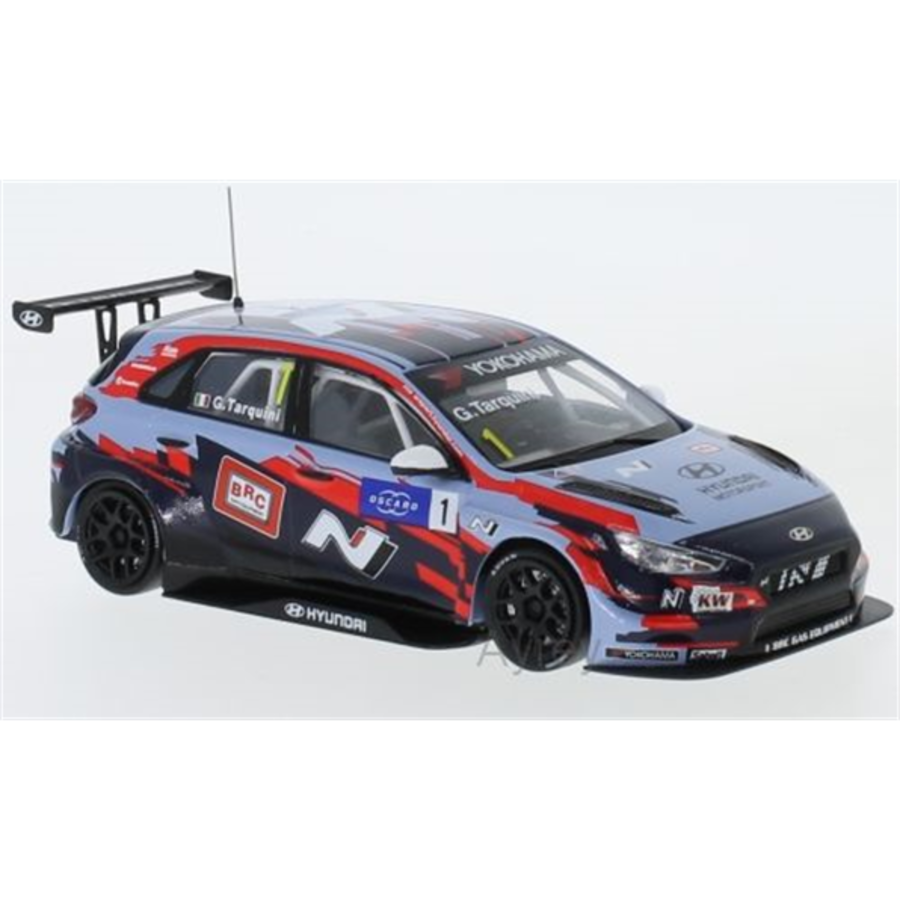 1/43 Hyundai i30 N TCR No.1 Squadra Corse Team WTCR 2019 G.Tarquini model car