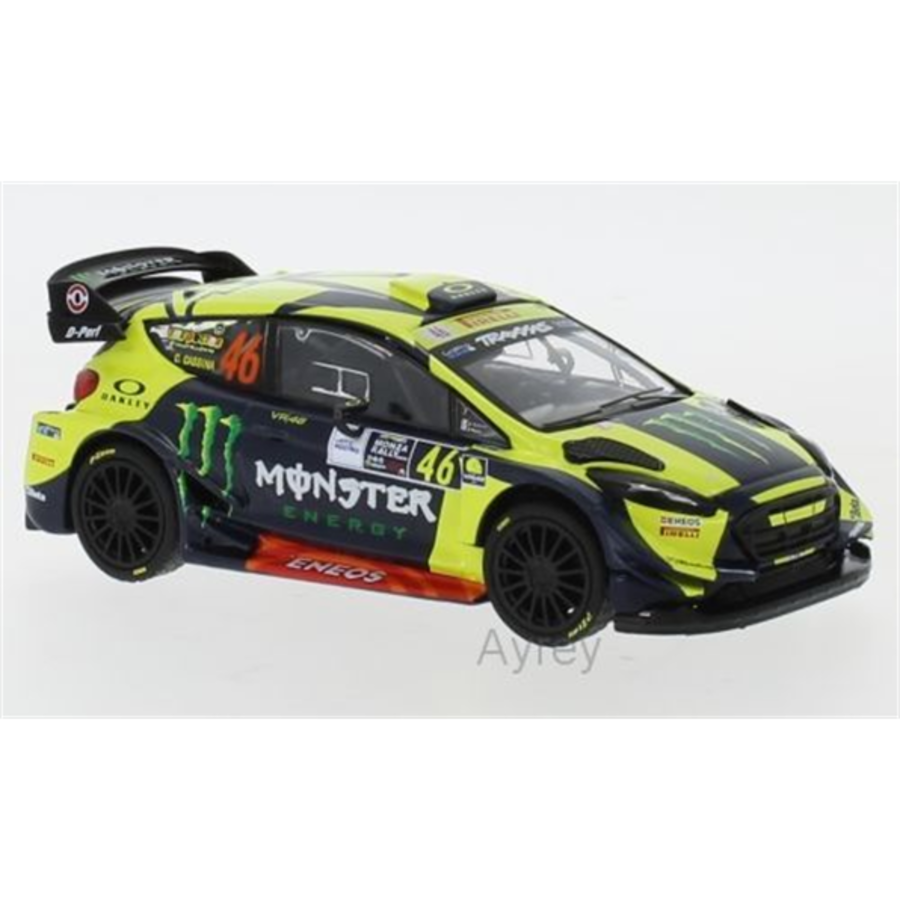 Ford Fiesta RS WRC #46 Monza Rally 2018 Rossi 1/43 car