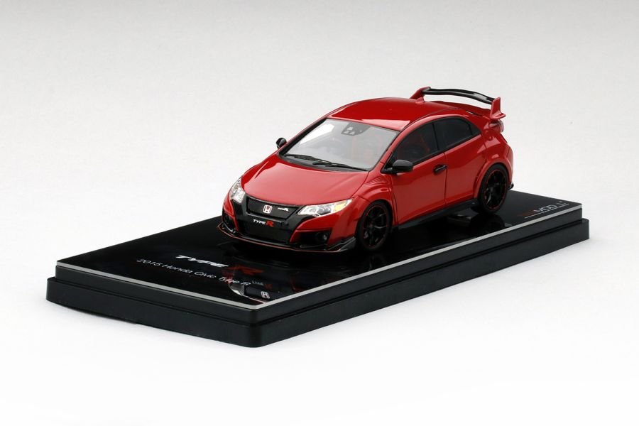 1/43 HONDA CIVIC TYPE R 2015 MILANO RED (RESIN) Model Car