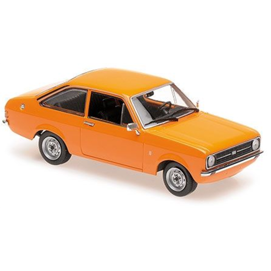 1/43 Ford Escort Mk2 Orange model car