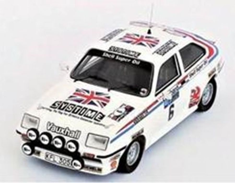 Vauxhall Chevette HSR-RAC Rally 81 Pond 1/43 model car