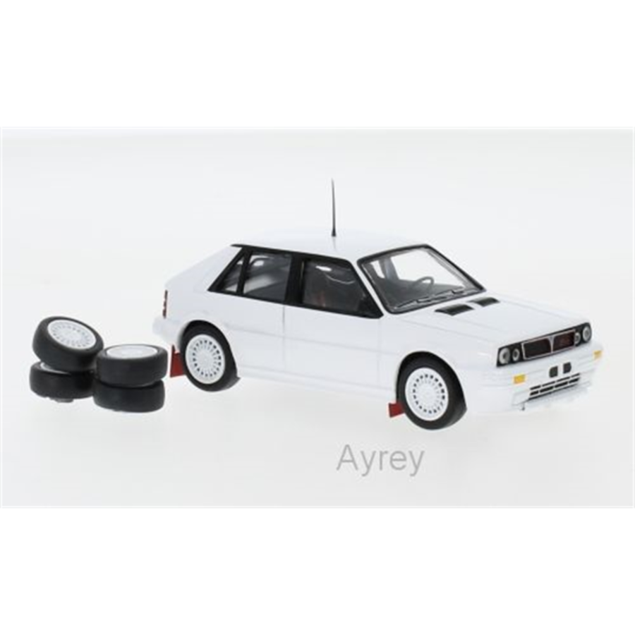 1/43 Lancia Delta HF Integrale 16V White 1989 Plain Body model car