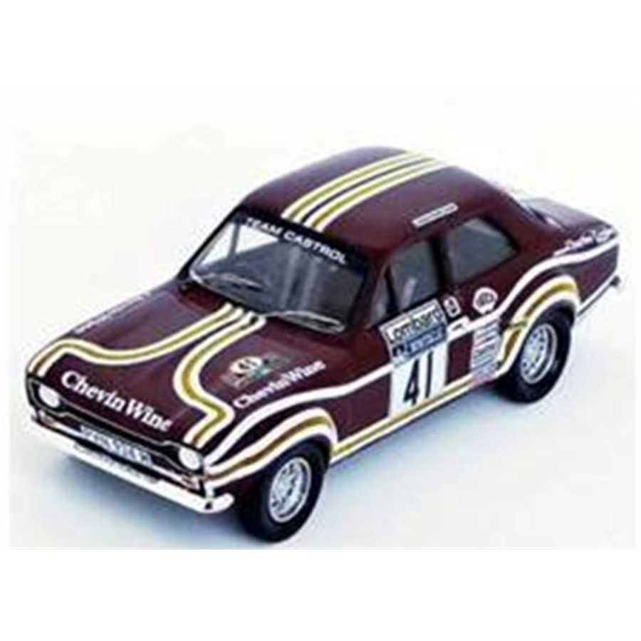 1/43 Ford Escort MK1 RAC Rally 1974 Tony Drumond/David Richards model car