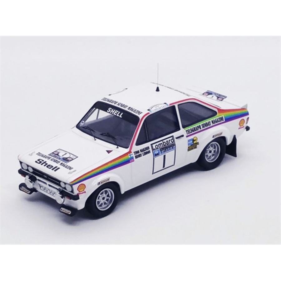 1/43 Ford Escort Mk2 RAC Rally 1976 Timo Makinen/Henry Liddon model car