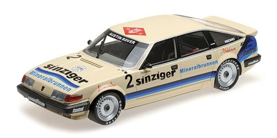 1/18 ROVER VITESSE - AUSTIN ROVER DEUTSCHLAND - OLAF MANTHEY - DTM 1984 (RESIN) Model Car