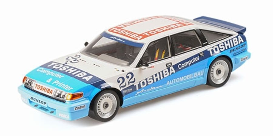 1/18 Rover Vitesse Kurt Thim 1986 DTM Champion resin model car