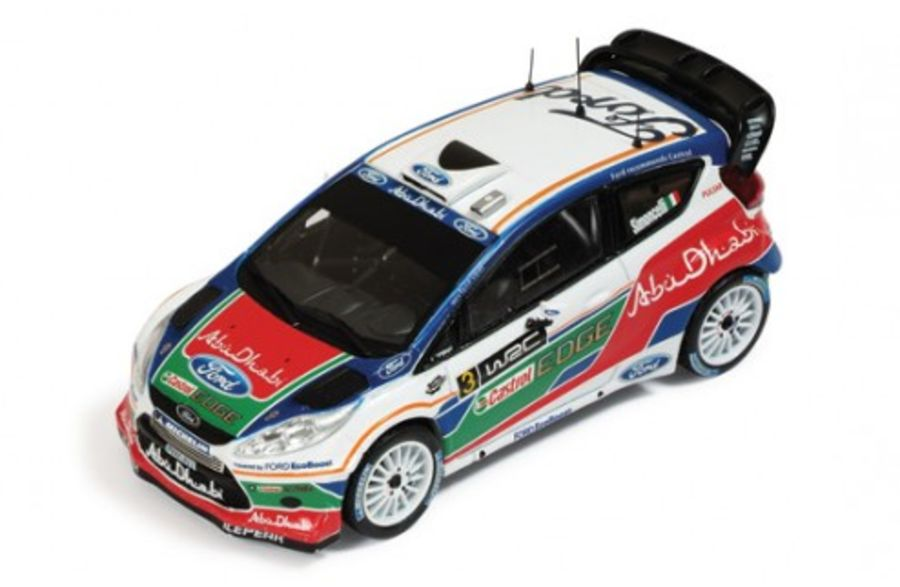 Ford Fiesta WRC #3 Simoncelli 1/43 scale rally car