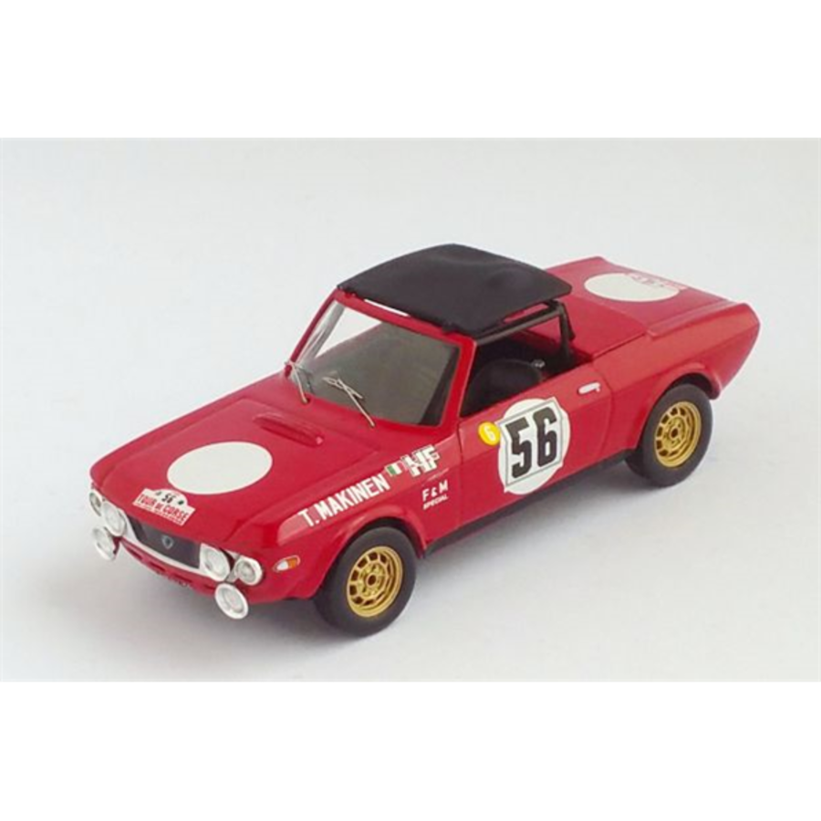 1/43 Lancia Fulvia FandM Tour de Corse 1969 T. Makinen/P. Easter model rally car