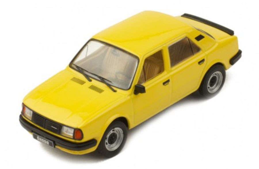 1/43 Skoda 120L Yellow model car