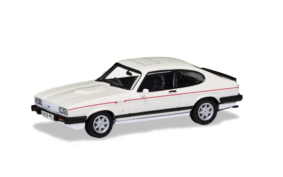 Ford Capri Mk3 2.8i Special Diamond White model car