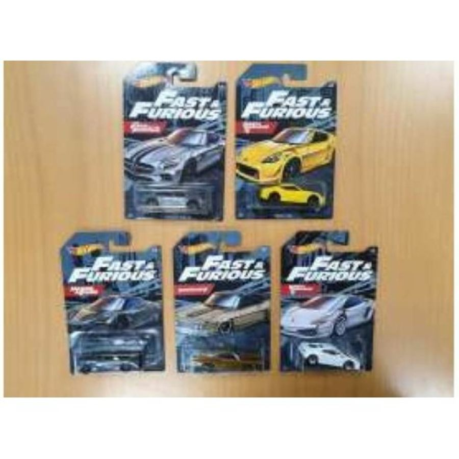 FAST AND FURIOUS 10 1/64 scale model car set