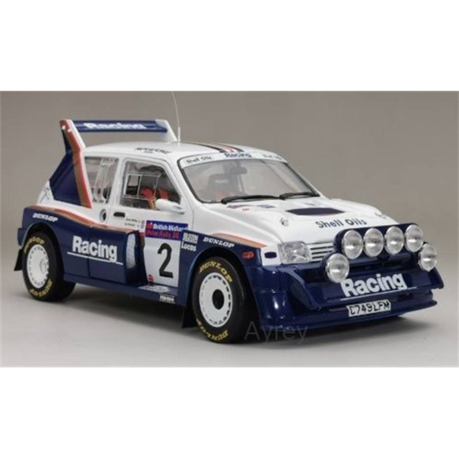 MG METRO 6R4  Jimmy McRae 1/18 Rally model car