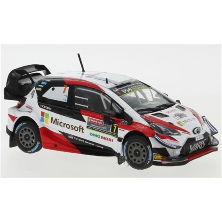 Toyota Yaris WRC #7 Rally Australia 2018 JM Latvala  1/43 car